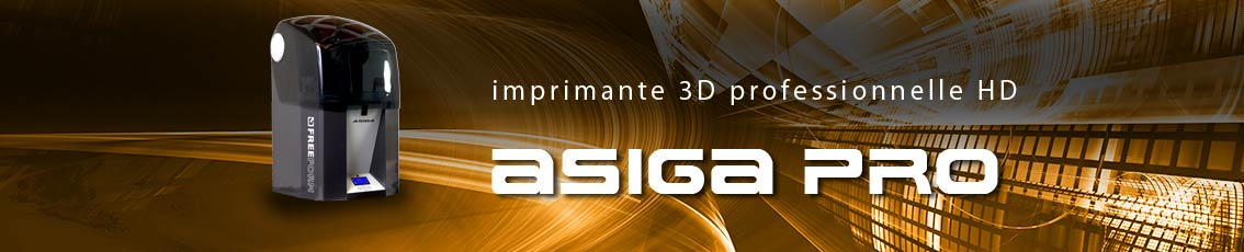 Kreos - IMPRIMANTE 3D Professionnelle ASIGA PRO