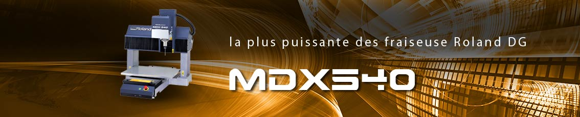 Kreos - Fraiseuse professionnelle MDX-540