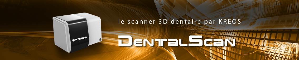 Kreos - Scanner dentaire