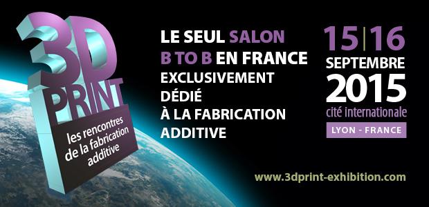 KREOS au 3D Print de Lyon 2015