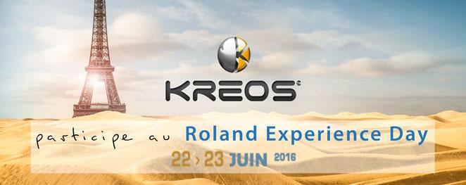 KREOS Roland Experience Day 2016