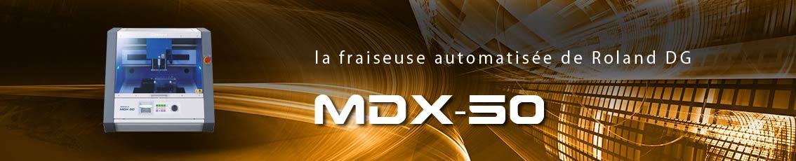 Kreos - Fraiseuse MDX-50