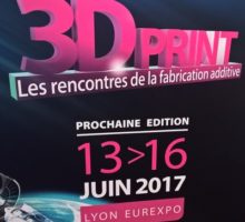 Kreos au 3D Print Lyon 2017, stand E4