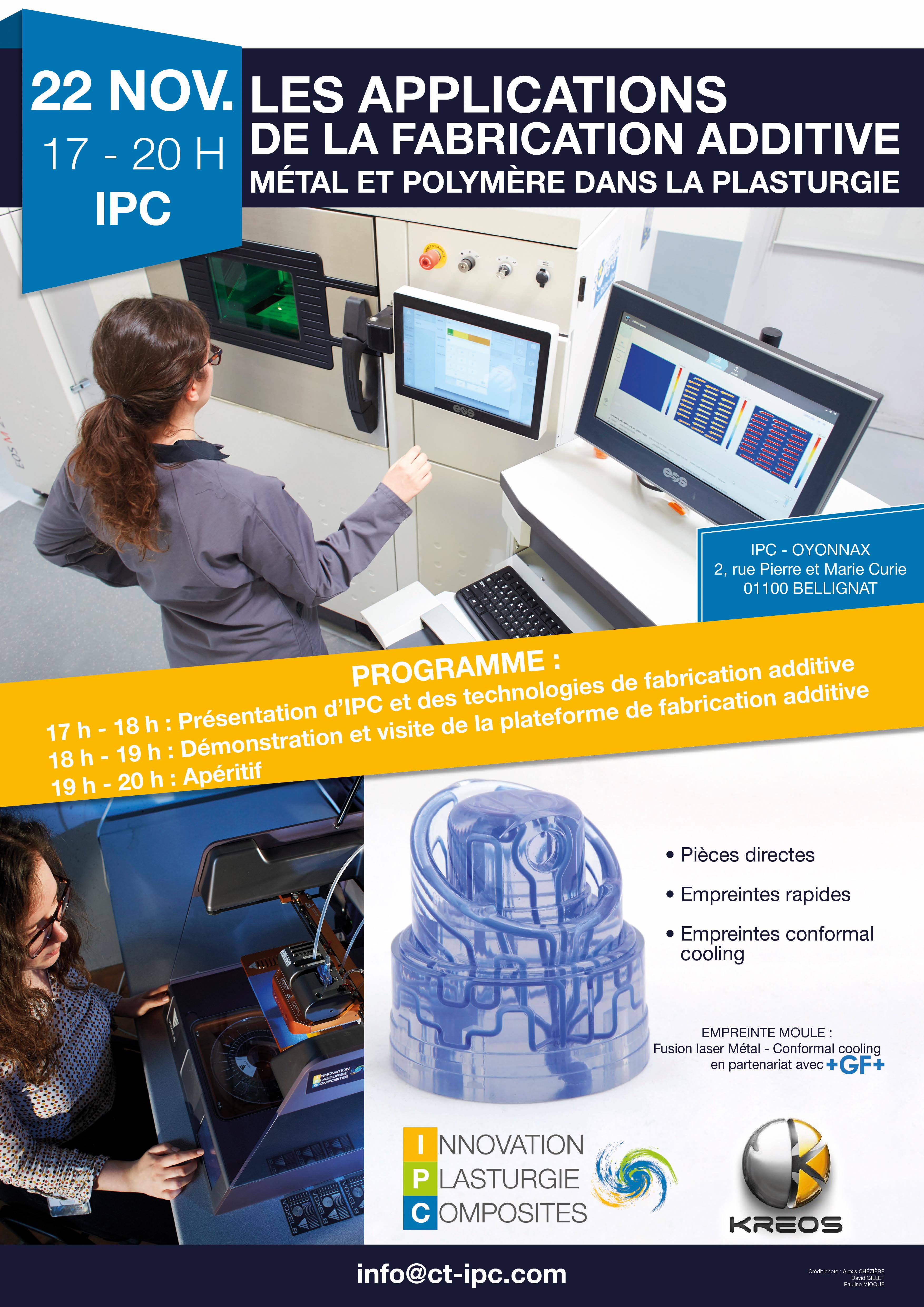 Les applications de la fabrication additive métal et polymère dans la plasturgie