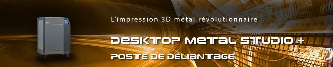 Kreos - Poste de déliantage Desktop Metal