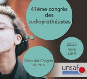 congrès des audioprothésistes 2019