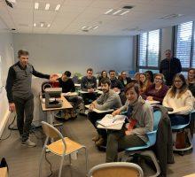 Intervention Audio Faculté de Lyon